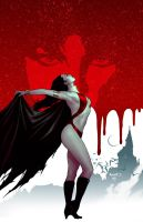 Vampirella 17 cover by PaulRenaud