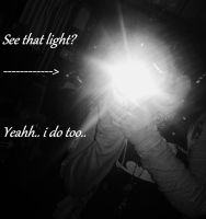 See that light? yeahh.. by ChristineChoreomania