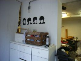 beatles stencil by Bobsmade