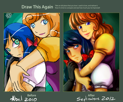 Draw this again-Max and Clara by NoriChama