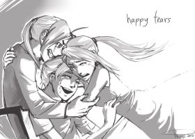 :: Happy Tears by hawberries