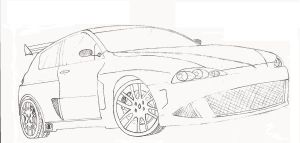 Alfa Romeo 147 by Carbon93