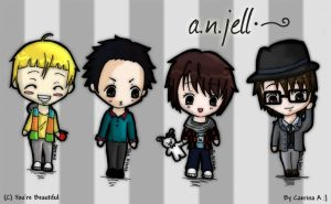 You're Beautiful- A.N.JELL by angel-sanctuary10