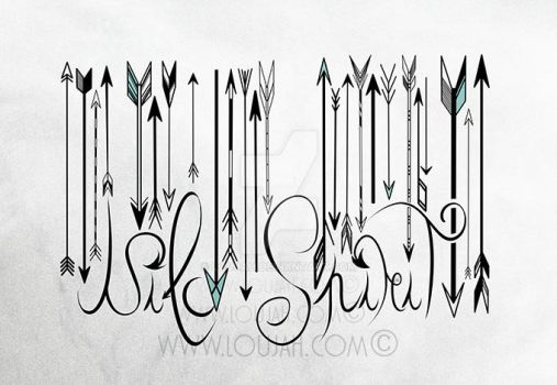 Barcode Wild Spirit B and W by LouJah