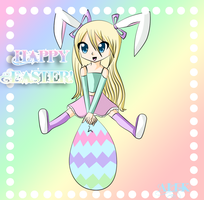 Happy early easter 8D by animeroxygirl