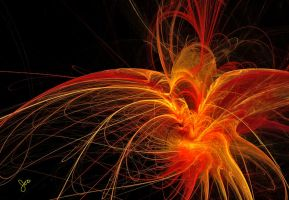 Fire Heart by digitallusion