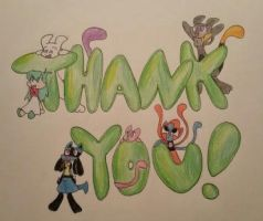 Thank you!! by zoozybeencloned