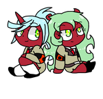 Chibi Demon Sister by MiracleGirl234