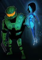Request Tajm - Master Chief + Cortana by ebbewaxin