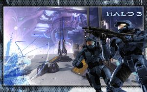 Halo 3 Background : Snow Bound by Nexovus