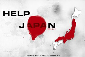 Pray for Japan by AMFdesigns