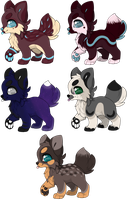 Little Pup Adopts -CLOSED- by bieIIe