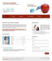 Web Design for Dentist by Areeb89