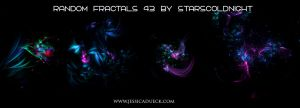 Random Fractals 43 By Starscoldnight by StarsColdNight