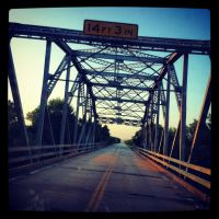 iPhone Snap: Pond Creek Bridge by Due-South