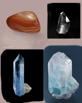 more rocks by Sushi-Arts