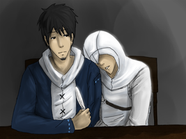 Malik and Altair: zzz by JJ-Power