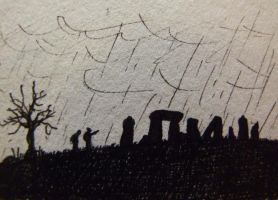 Stone circle by tommy-tommerson