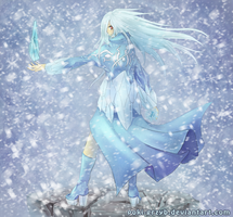 Glacial Storm by Poki-art