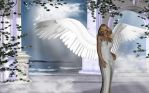 My Fave Angel Ive done by Poser4U