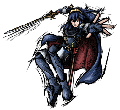 Smash Striker: Lucina by Tails1000