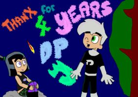 4 years DP by Chibi-Danny