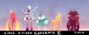 Virus: Citizen Concepts 2 by Aileen-Kailum