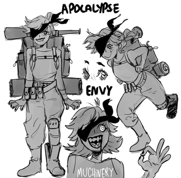 Apocalype Envy by Muchinery