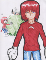 Sonic Humans:Knuckles by sSflowerSs