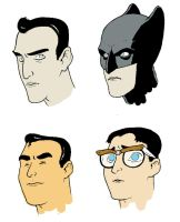 Secret Identity doodles by michaelharris