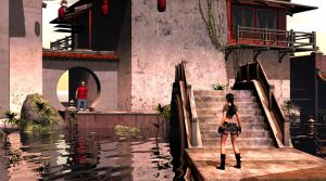 Lara Croft: Trouble In Chinatown by JohnMo