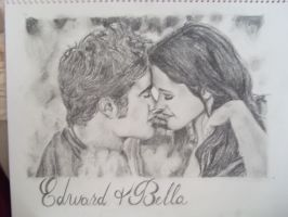 edward and bella by dustiefred