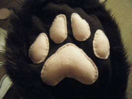 Wolf Hood Handmade Project No.5 by ChibiSayuriEtsy