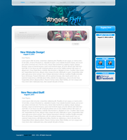 Angelic Flyff Website by SeraphiPod