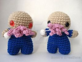 Angry Ood and Friendly Ood by MoonYen