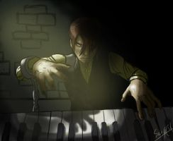 Chained to Music by Sarqful
