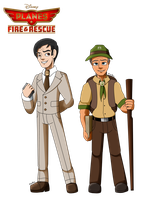Planes Fire and Rescue: Park Superintendents by Aileen-Rose