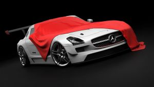 Mercedes SLS GT3 AMG Cover by DarkStryder360