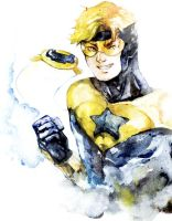 Booster Gold by onlyfuge