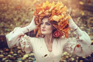 Following the Autumn by LienSkullova
