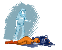 John finds Vriska by V-Inks