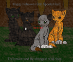 Requested OCs - SpookyClan by DemonicVampyreWolf
