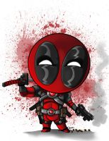 Lil Deadpool by StevenCrowe