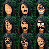 The Faces of Rebecca Black 2 by dbgtrgr
