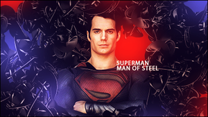 Man of steel by GamerX54