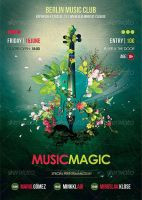 Music Magic Flyer by Minkki2fly