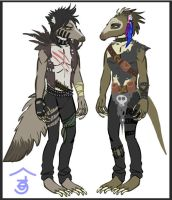 Post Apocalyptic Anteaters by Bailiwick