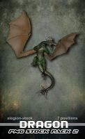 Dragon PNG Stock Pack 2 by Alegion-stock