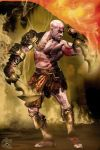 Kratos by BlackWolf-Studio
