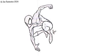 Spidey Pose 11-22-11 by JoeCostantini
